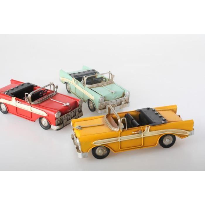 r plique voiture d capotable 16 cm jaune achat vente voiture camion r plique voiture. Black Bedroom Furniture Sets. Home Design Ideas