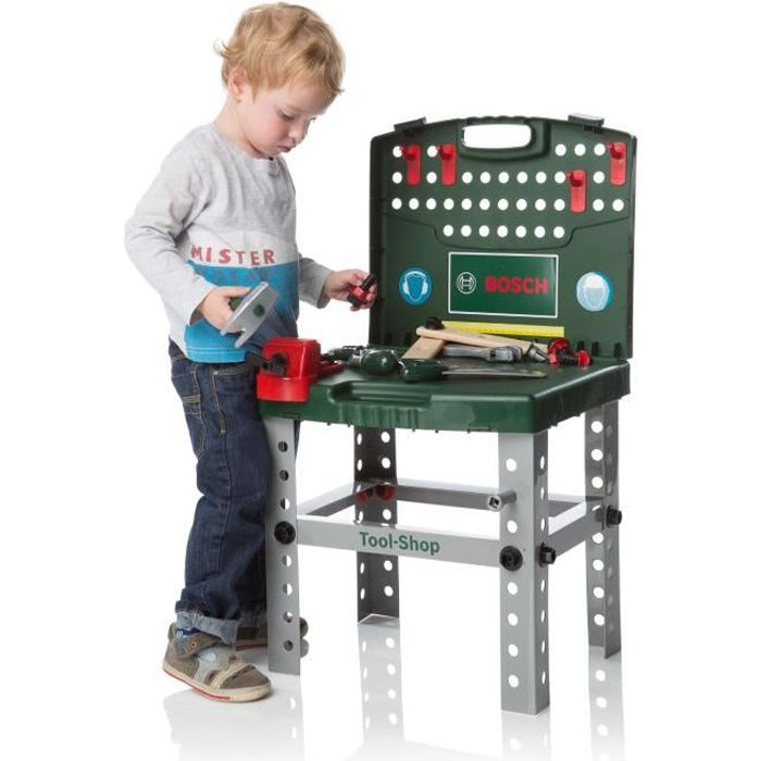 bosch etabli de bricolage pliable enfant achat vente bricolage tabli cdiscount. Black Bedroom Furniture Sets. Home Design Ideas