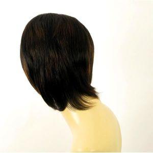 perruque cheveux naturel méchés ANNE 1B30