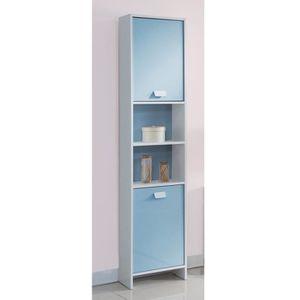 etagere colonne blanche achat vente etagere colonne blanche pas cher cdiscount. Black Bedroom Furniture Sets. Home Design Ideas