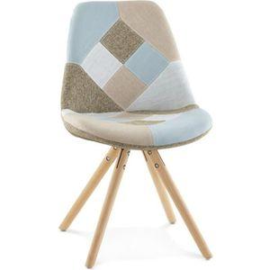 CHAISE La chaise patchwork Bohème style scandinave s'acco