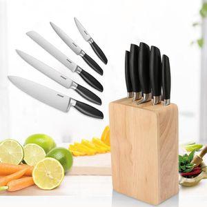 Set de couteaux de cuisine inox achat vente set de - Set de couteaux de cuisine ...
