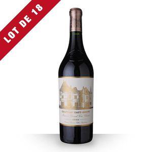 VIN ROUGE 18X Château Haut-Brion 2012 Rouge 75cl AOC Pessac-