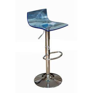 assise seule pour tabouret de bar accessoire cuisine inox. Black Bedroom Furniture Sets. Home Design Ideas