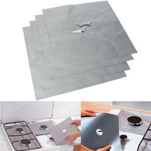 CHEMIN DE TABLE U 4x Protection Film Table Gaz Coussin Revêtement