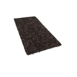 tapis en cuir achat vente tapis en cuir pas cher cdiscount. Black Bedroom Furniture Sets. Home Design Ideas