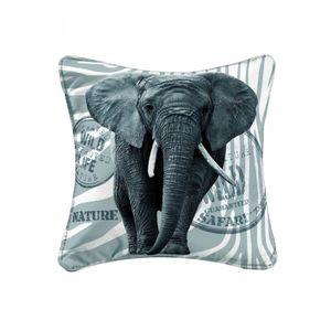 HOUSSE DE COUSSIN Housse de coussin + zip Wild elephant 40 cm