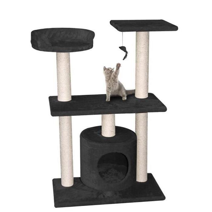 arbre chat bombay noir achat vente arbre chat arbre chat bombay noir cdiscount. Black Bedroom Furniture Sets. Home Design Ideas