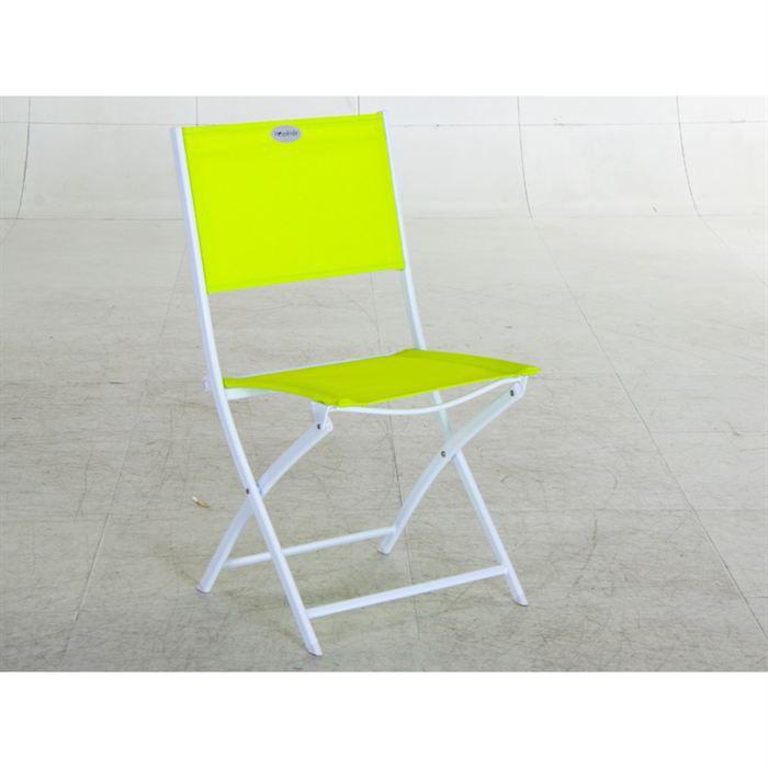 chaise de jardin les compat vert achat vente chaise fauteuil jardin chaise de jardin vert. Black Bedroom Furniture Sets. Home Design Ideas