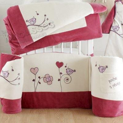 tour de lit un amour de piaf tailles tours de l blanc. Black Bedroom Furniture Sets. Home Design Ideas
