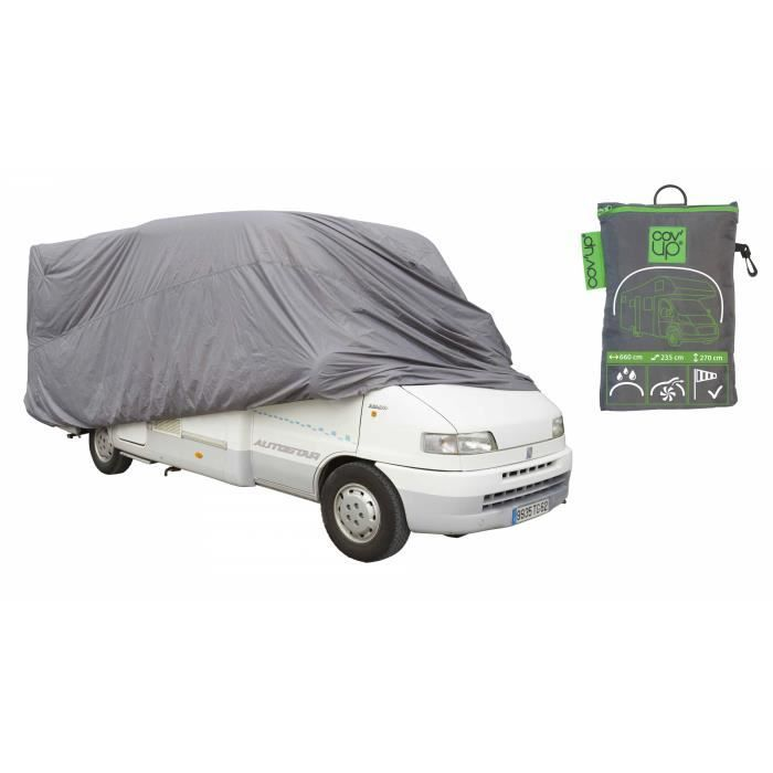 Housse de protection camping car achat vente housse for Housse tyvek camping car