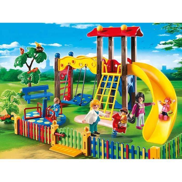playmobil 5568 square pour enfants avec jeux achat. Black Bedroom Furniture Sets. Home Design Ideas