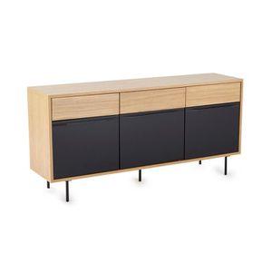 buffet chene naturel achat vente buffet chene naturel. Black Bedroom Furniture Sets. Home Design Ideas