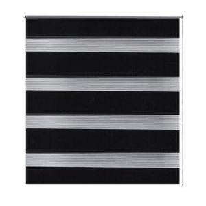 store enrouleur noir et blanc achat vente store. Black Bedroom Furniture Sets. Home Design Ideas