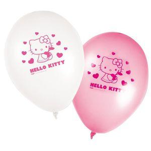 ballon dcoratif lot de 8 ballons hello kitty dco anniversaire