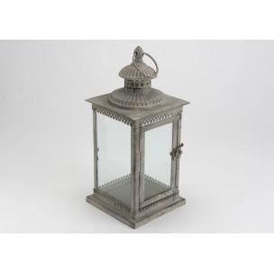 lanterne carr en m tal amadeus achat vente photophore lanterne cdiscount. Black Bedroom Furniture Sets. Home Design Ideas