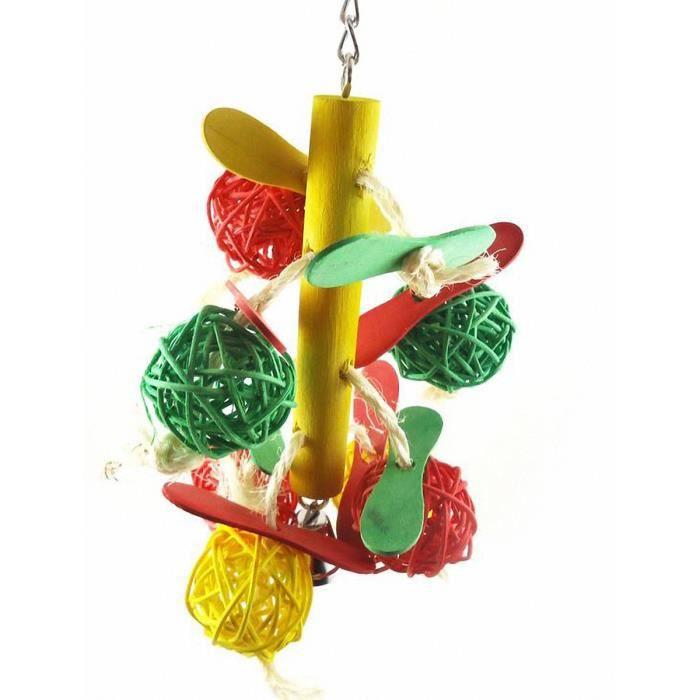 boules colores colorant alimentaire naturel bois perroquet oiseau jouet macaw gris perruches africains drle bite jouet 10 23cm - Colorant Gris Alimentaire