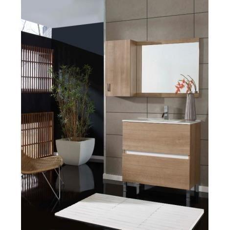 ensemble de salle de bain zuera 80 x 45 cm achat vente salle de bain complete ensemble de. Black Bedroom Furniture Sets. Home Design Ideas