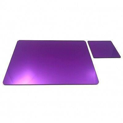 8 napperons acryliques miroir violet et sous verre achat for Miroir acrylique incassable