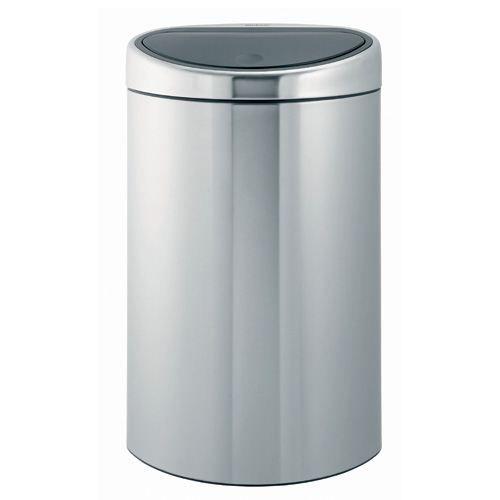 poubelle touch bin 40 l mate fpp de brabantia achat vente poubelle corbeille poubelle. Black Bedroom Furniture Sets. Home Design Ideas
