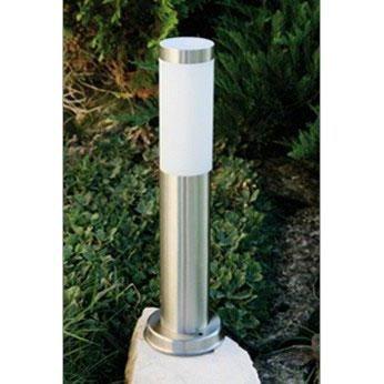 Luminaire de jardin inox hauteur 45 cm achat vente for Luminaire solaire jardin