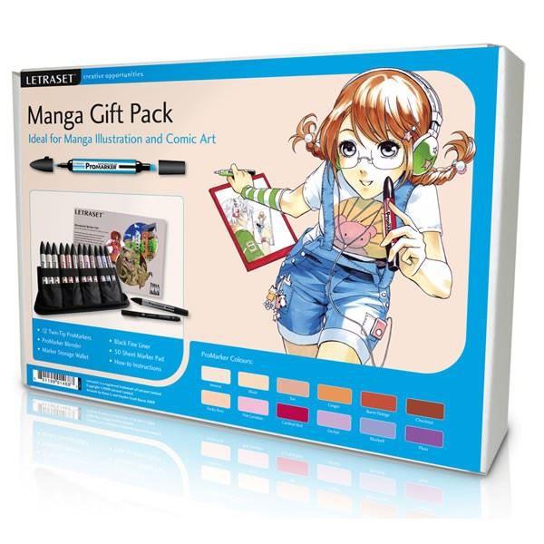 Manga gift pack coffret complet pour dessiner achat - Apprendre a dessiner violetta ...