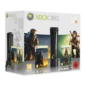 CONSOLE XBOX 360 PACK XBOX 360 ELITE HALO 3 & FABLE 2
