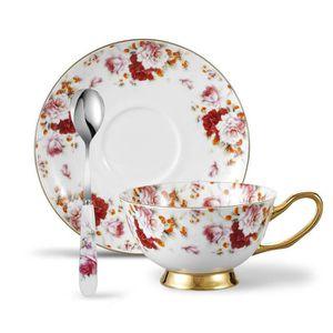 tasse porcelaine fine achat vente tasse porcelaine fine pas cher cdiscount. Black Bedroom Furniture Sets. Home Design Ideas
