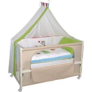 lit d 39 appoint b b cdiscount. Black Bedroom Furniture Sets. Home Design Ideas
