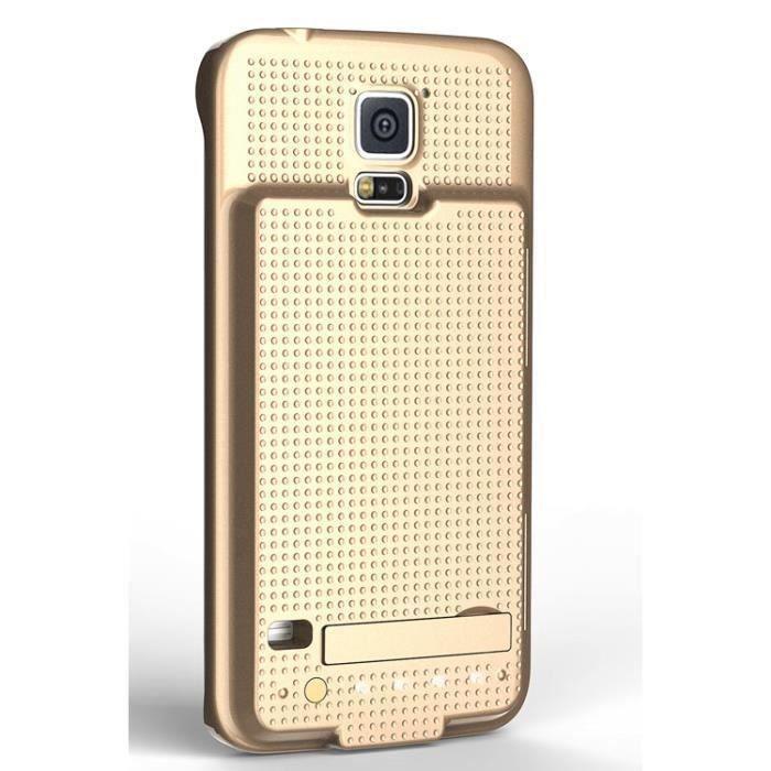 telephonie accessoires portable gsm coque batterie samsung galaxy s  mah noire f auc