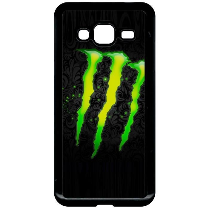 coque samsung galaxy j3 2016 monster griffe achat. Black Bedroom Furniture Sets. Home Design Ideas