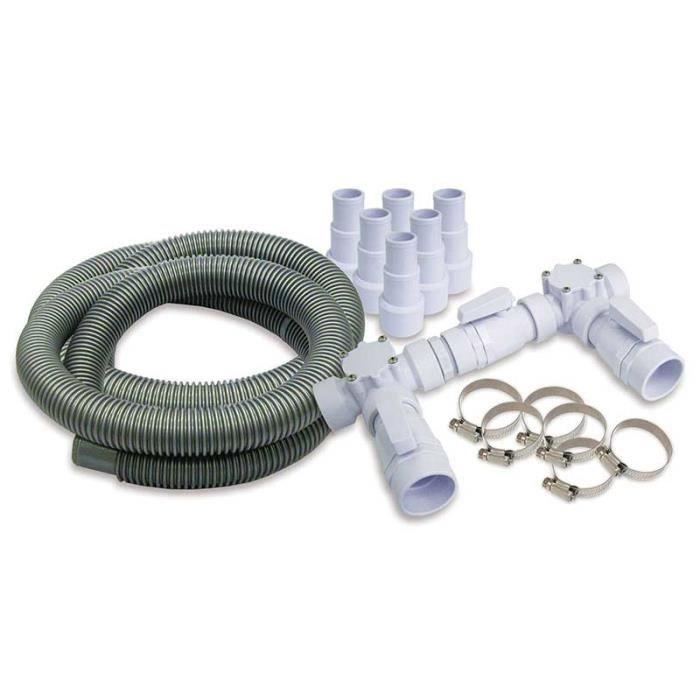 Kit by pass pour chauffage solaire ou pompe chaleur for Kit piscine bois avec pompe a chaleur