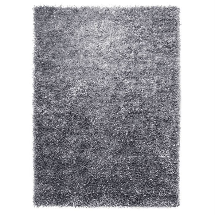 1a2t tapis cool glamour argent 200x200 esprit achat for Tapis salon 200x200