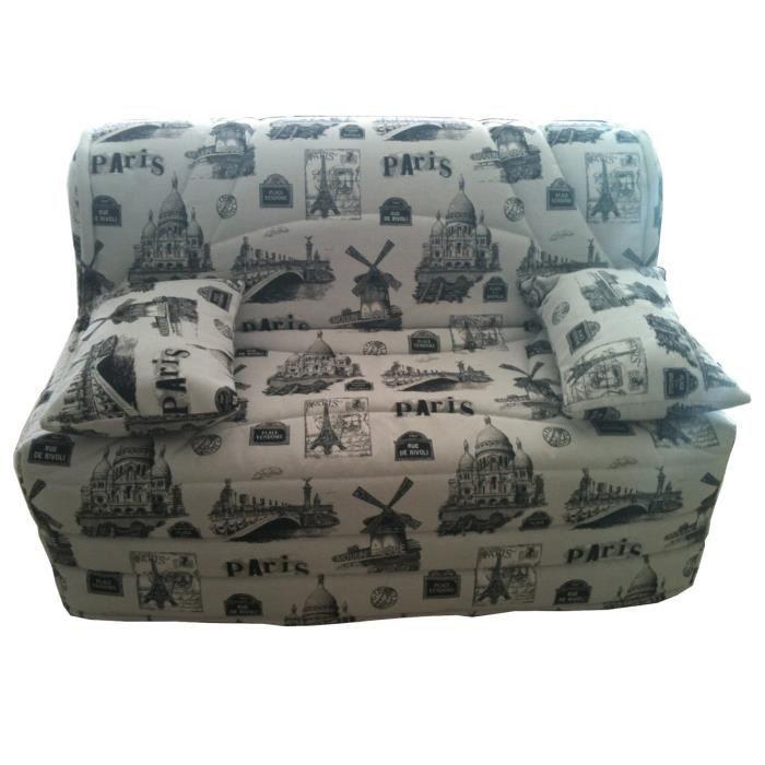 housse banquette b z 140 jacquard paris achat vente housse de canape cdiscount. Black Bedroom Furniture Sets. Home Design Ideas