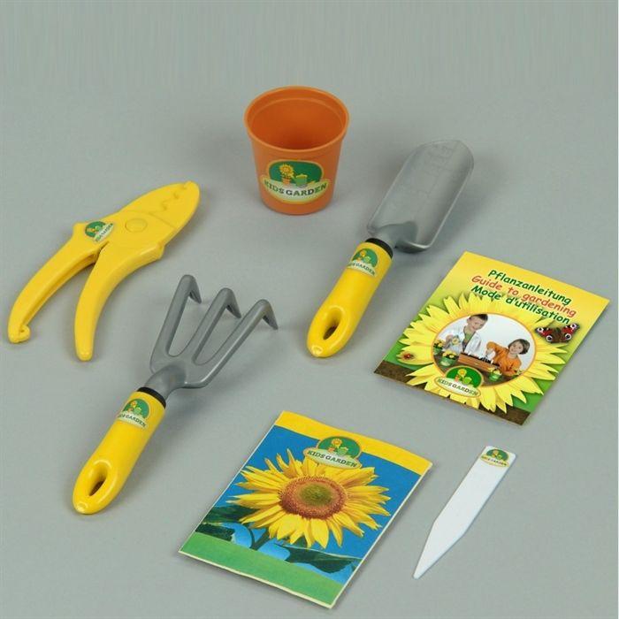 Set Outils De Jardinage Avec Vraies Semences Achat Vente Jardinage Set Outils Jardinage