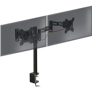 FIXATION ÉCRAN  Duronic DM352 Support de bureau pour deux écrans L