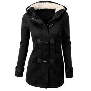 MANTEAU - CABAN Manteau femme d'hiver slim capuche SIMPLE FLAVOR