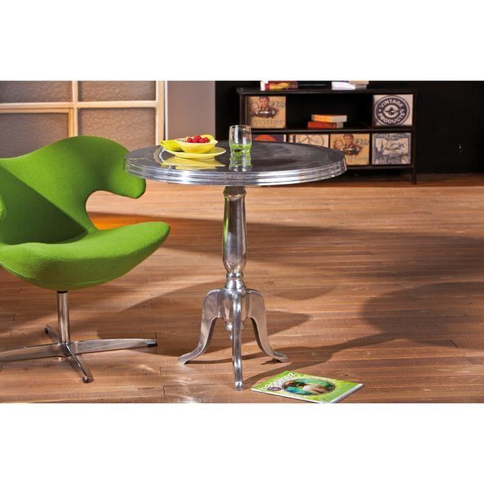 table d 39 appoint rond en m tal design moderne achat vente table d 39 appoint table d 39 appoint. Black Bedroom Furniture Sets. Home Design Ideas