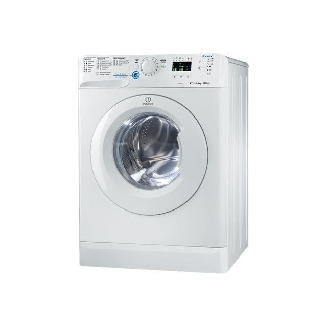 Indesit xwa61252wfr 01 lave linge frontal achat for Profondeur machine a laver