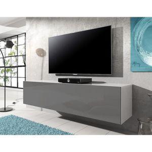 meuble tv 140 cm en hauteur achat vente meuble tv 140 cm en hauteur pas cher les soldes. Black Bedroom Furniture Sets. Home Design Ideas