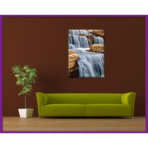 tableau cascade d eau achat vente tableau cascade d eau pas cher cdiscount. Black Bedroom Furniture Sets. Home Design Ideas
