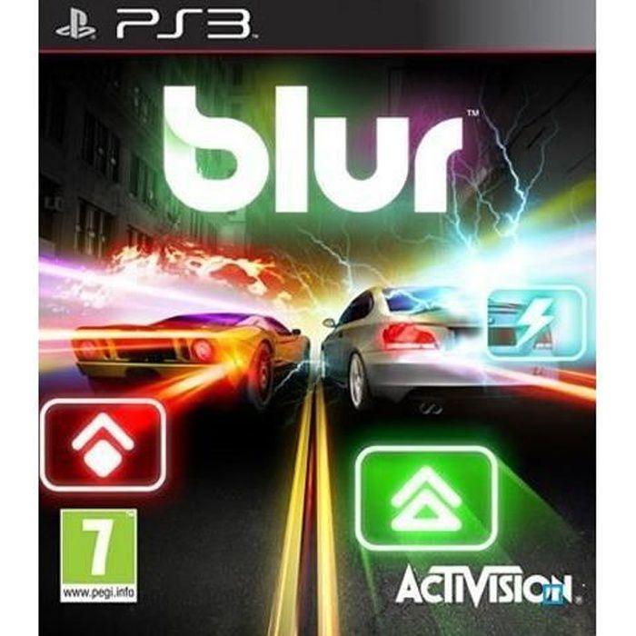 JEU PS3 BLUR / Jeu console PS3