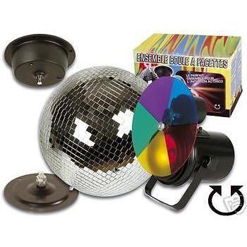 Projecteur disque couleur par36 boule a facettes boule a facettes avis et - Ampoule boule a facette ...