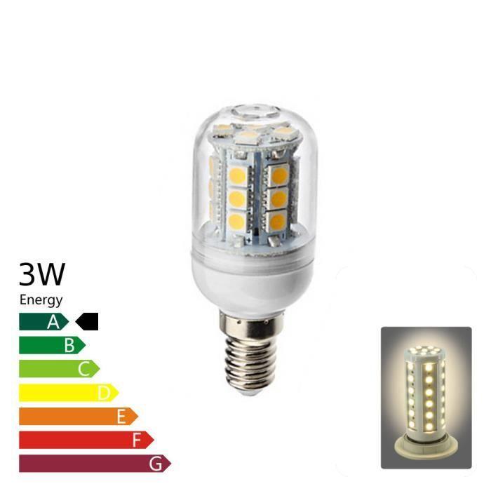 ampoule led e14 corn 3 watt blanc chaud achat vente ampoule led cdiscount. Black Bedroom Furniture Sets. Home Design Ideas
