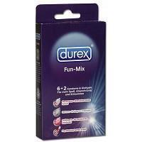 PRÉSERVATIF Kit Préservatifs Durex Fun-Mix x6 avec Lubrifiant