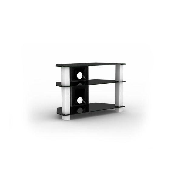 Elmob blanc meuble tv pour cran plat 37 pouces achat vente meuble tv m - Meuble pour ecran plat ...