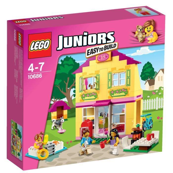 lego juniors 10686 la maison achat vente assemblage construction cdiscount. Black Bedroom Furniture Sets. Home Design Ideas