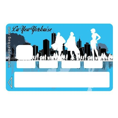 sticker cb la new yorkaise achat vente stickers cdiscount. Black Bedroom Furniture Sets. Home Design Ideas