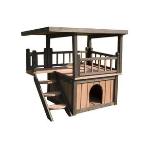 niche chien terrasse achat vente niche chien terrasse. Black Bedroom Furniture Sets. Home Design Ideas