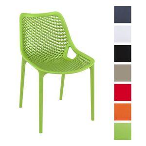 chaise de jardin plastique achat vente chaise de. Black Bedroom Furniture Sets. Home Design Ideas